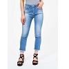 Bon plan de 30% SUR FAYE Bleach Crop Straight Jean
