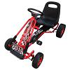Rabais de 50€ sur Kart à pédales rouge siège ajustable