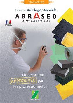 Nouveauté Gamme Outillage/Abrasifs Abraseo