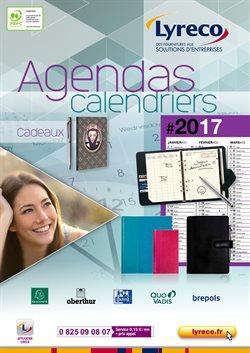 Agendas Calendriers 2017