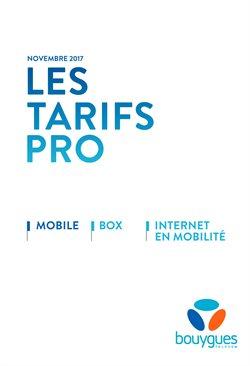 Les Tarifs PRO