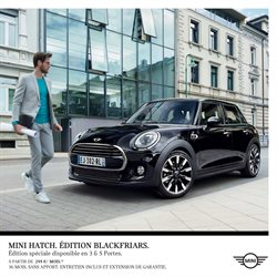 Mini Hatch - Édition BlackFriars