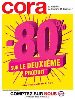 -80% sur le deuxième produit