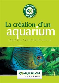 La création d'un aquarium