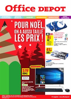 Office depot catalogue code promo et r duction octobre 2017 - Coupon de reduction office depot ...