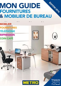 Metro prospectus catalogue et r duction octobre 2017 - Catalogue fourniture de bureau pdf ...