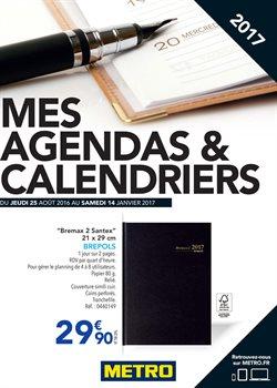 Mes agendas & calendriers