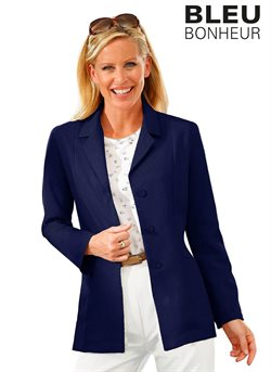 Veste femme bleu bonheur