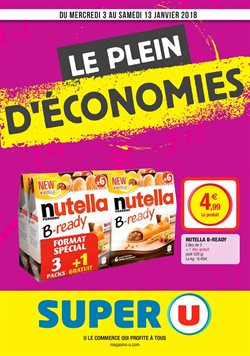 Super u catalogue prospectus et code promo mai 2017 for Les economes catalogue