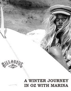 A winter journey in oz with marina