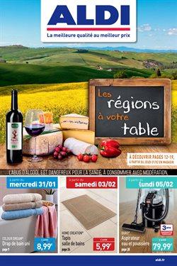 Les régions à votre table
