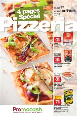 Spécial pizzeria du 1er au 10 février 2018