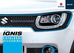 Catalogue Accessoires Suzuki Ignis