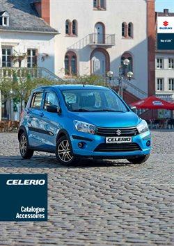 Catalogue Accessoires Suzuki Celerio