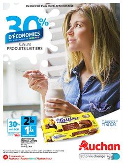 30% d'économies sur les produits laitiers