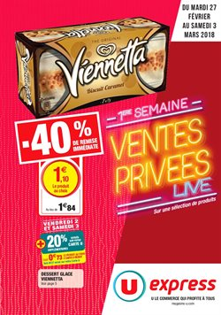 Ventes Prives Live 40%