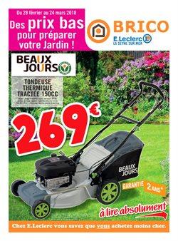 Des prix bas pour préparer votre jardin !