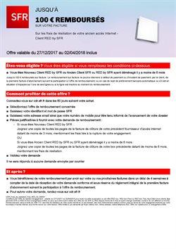 SFR / Jusqu'à 100€ Remboursés