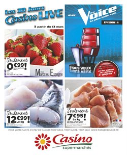 Les 30 jours Casino LIVE