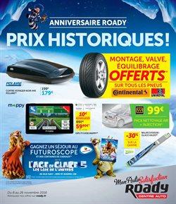 Anniversaire Roady - Prix Historiques