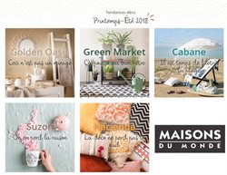 printemps t 2018 catalogue maisons du monde
