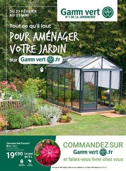 Gamm Vert - Catalogue, prospectus et code promo Octobre 2019