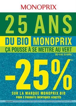Du Bio Monoprix