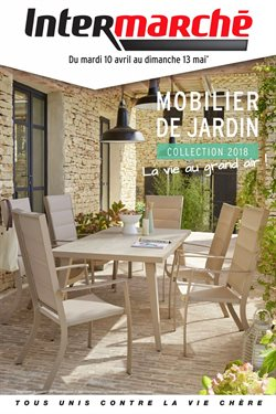 MOBILIER DE JARDIN collection 2018