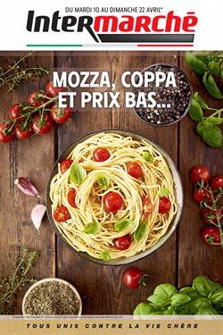 Mozza, coppa et prix bas