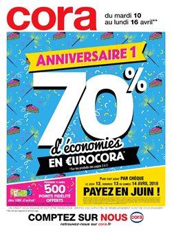 Anniversaire n°1 - 70% d'économies en €urocora
