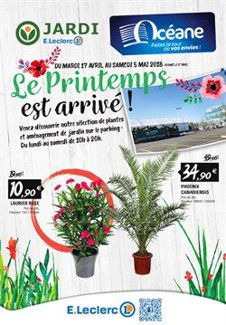 Jardi e leclerc catalogue prospectus et code promo janvier 2018 - Plantes et jardins code promo ...