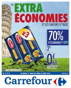 Les Extra Économies et les saveurs d'Italie