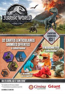 Opération Jurassic World