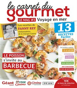 Le carnet du gourmet - Voyage en mer