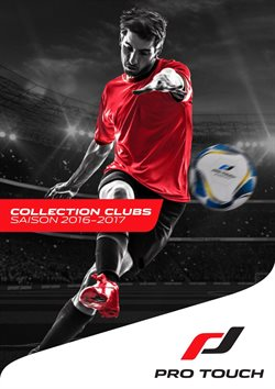 Catalogue Pro Touch / Collection clubs 2016-2017