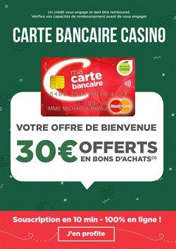 Carte bancaire Casino - Votre offre de bienvenue