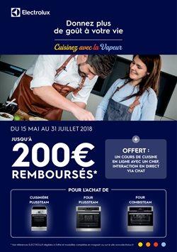 Catalogue Electrolux