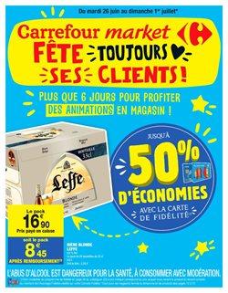 Carrefour market fête toujours ses clients