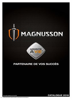 Catalogue Magnusson 2016