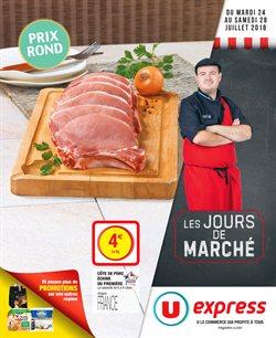 LES JOURS DE MARCHÉ PRIX ROND