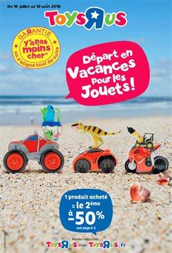 Départ en vacances pour les jouets!