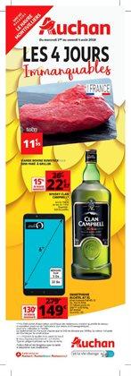 Les 4 jours immanquables Auchan Montivilliers