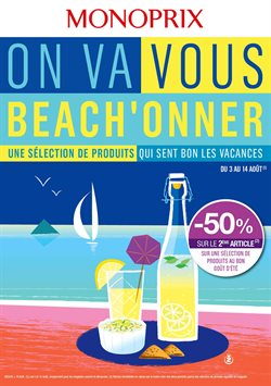 On va vous beach'onner