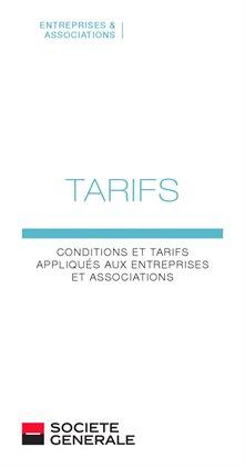 Conditions et tarifs appliqués aux entreprises et associations