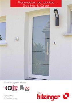 Panneaux de portes Ecoline & Créa