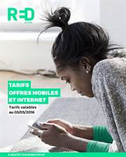 Tarifs Offres Mobiles et Internet RED by SFR