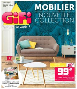 Mobilier Nouvelle Collection