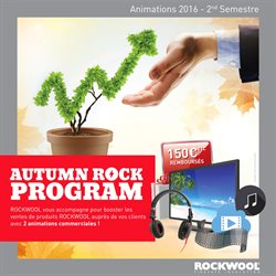 Autumn Rock Program