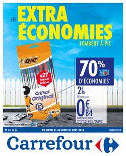 Les extra économies tombent à pic 9