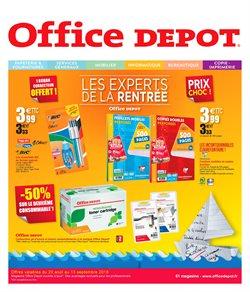 Office Depot l'Expert de la rentrée - Profitez de prix choc !